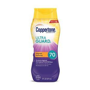 Coppertone Ultraguard Sunscreen Lotion SPF 70 8 oz