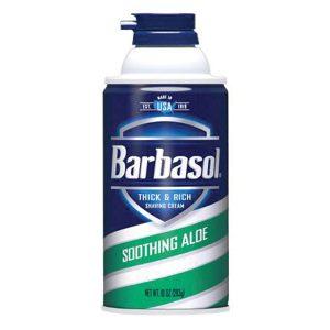 Barbasol Soothing Aloe Shave Cream 10 oz Aerosol
