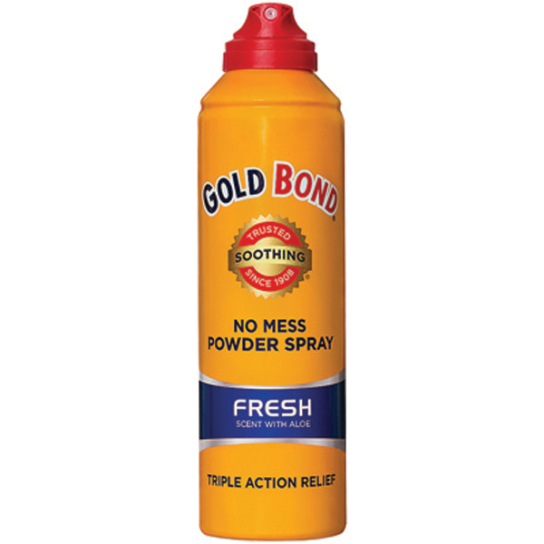 Gold Bond Powder Spray Fresh Scent with Aloe 7 oz Aerosol