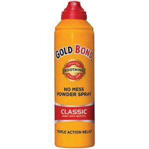 Gold Bond Powder Spray Classic Scent with Menthol 7 oz Aerosol