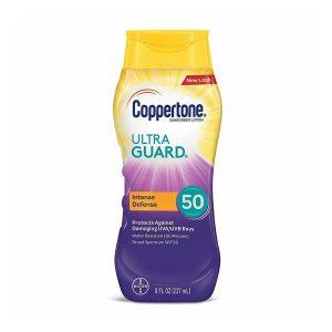 Coppertone Ultraguard Sunscreen Lotion SPF 50 8 oz