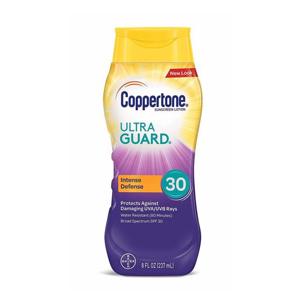Coppertone Ultraguard Sunscreen Lotion SPF 30 8 oz