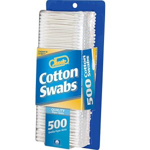 Classic Cotton Swabs Paper Stick 500 count