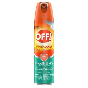 Off! Smooth & Dry Insect Repellent 4 oz
