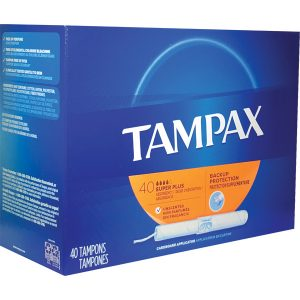 Tampax Tampons Cardboard Super Unscented