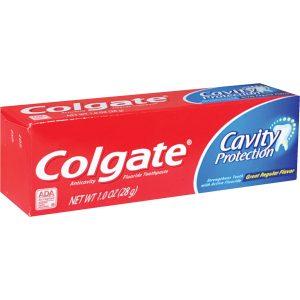 Colgate Cavity Protection Fluoride Toothpaste Regular Flavor 1 oz