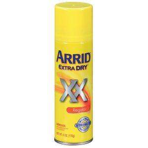 Arrid Extra Dry Regular Aerosol Antiperspirant Deodorant 6 oz