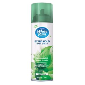 White Rain Aerosol Hair Spray Unscented 7 oz.