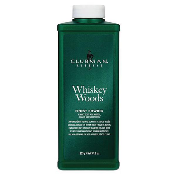 Clubman Reserve Whiskey Woods Cornstarch Powder 9 oz
