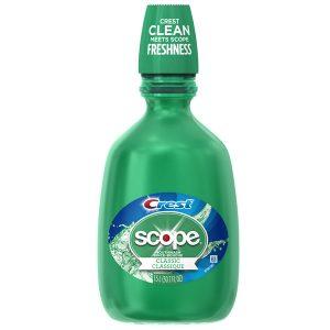 Crest Scope Classic Mouthwash Original Formula 1.5 liter