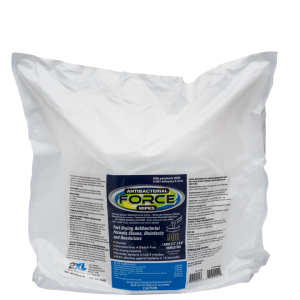 Gym Wipes Antibacterial Force Wipes 900 wipes per refill (2xl401)