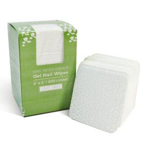 """Intrinsics Gel Nail Wipes 2"""" x 2"""" lint free nail wipe 200 per box"""