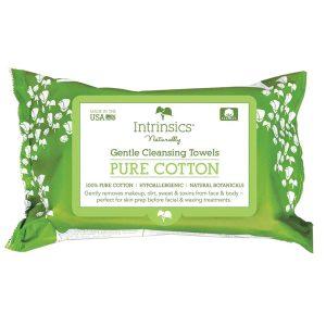 Intrinsics Gentle Cleansing Towel 8.5″ x 6″ 100% pure cotton 72 per unit