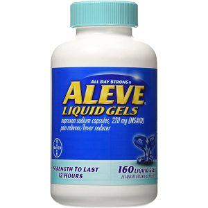 Aleve Liquid Gels 160 count