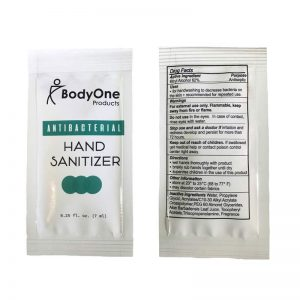 Antibacterial Hand Sanitizer packets