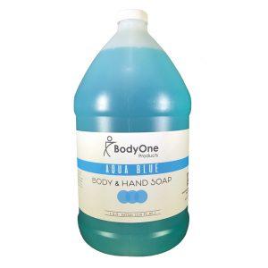 Aqua Blue Soap Gallon