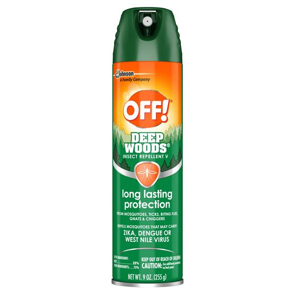 Off! Deep Woods Aerosol Insect Repellent 9 oz.