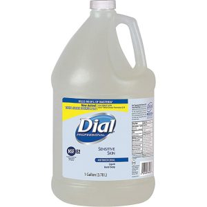 Dial Sensitive Skin Antimicrobial Hand Soap Gallon