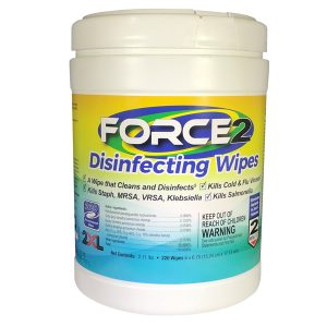 Force 2 Disinfecting Wipes