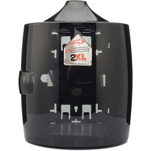 Gym Wipes Contemporary Smoke Grey Dispenser