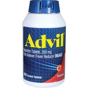 Advil Coated Tablets 200 Mg 360 Count Bottle