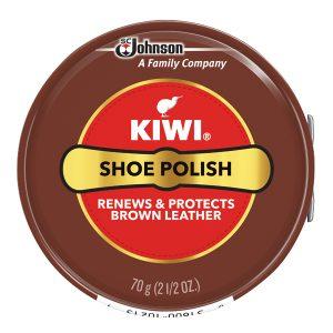 Kiwi Brown Shoe Polish Paste