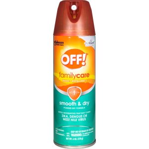 Off! Smooth & Dry Insect Repellent 6 oz