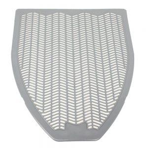 Impact Disposable Urinal Mat Grey Orchard Zing 17 1/2 x 20