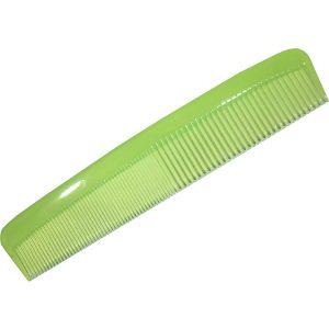 """Green 9"""" Plastic Comb"""