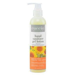 Cuccio Sunflower & Eucalyptus Hand Sanitizer 8 oz. Lotion