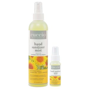 Cuccio Sunflower & Eucalyptus Hand Sanitizer Spray